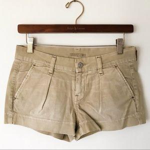 NEW 7 For All Mankind Denim Tan Shorts